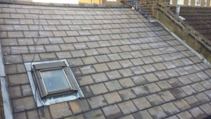 roof cleaning complete