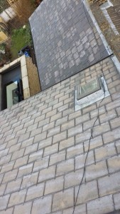 roof cleaning finished
