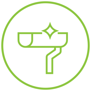 gutter maintenance icon